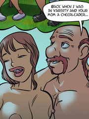 Adult comic pictures. Daddy fucks mommy. - Cartoon Porn Pictures - Picture 5