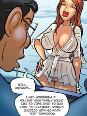 Comic sex pics. Anime chick have great tits - Cartoon Porn Pictures - Picture 4