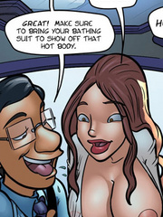 Adult comic toons. Sharona, ypur room is an - Cartoon Porn Pictures - Picture 1