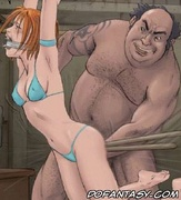 Bondage cartoons. C'mon slave offer your pussy to your lezzie lover!