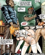 Slave cartoons. You and the others look and find some pussy to fuck among the patients!