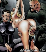 Free bdsm comics. Blonde girl humiliated in siberian prison!
