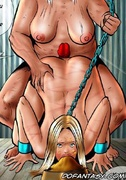 Bdsm art drawings. You're have been here four year and still haven't learn how to suck cock, slave!