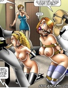 Slave art. Sexy college girls became their techers…