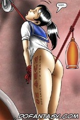 Adult bondage comics. Good morning, slave! Are you ready for your morning fuck?