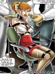Bdsm art drawings. Men keep girls on a leash like a pets!