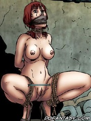 Slave cartoons. God, they're looking at me like I'am a pice of meat!
