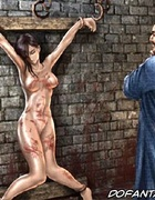 Submission art. Chinese Warlords sex slave gets her tits tortured and