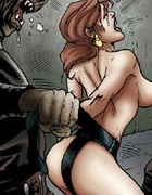 Bdsm comics. Orc troops captured human women! And now use them as fuck