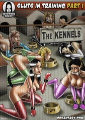 Bondage comics. Come on girls! Your glamourous lifie is over! Now you belong to this fine establishment!