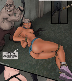 Sado comic. They are going to kill her! No one can take that enormous dick!