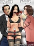 Sex slave comics. Dark haired girl gets tied and fucked right in the store!