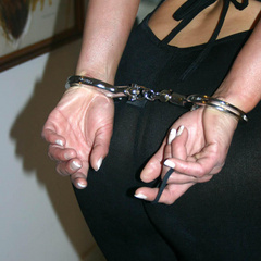 Humiliated horny wives handcuffed all wet - Unique Bondage - Pic 9