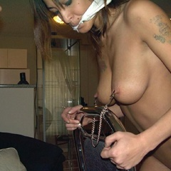 Slut wags handcuffed whipped and bound - Unique Bondage - Pic 10