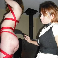 Collared wives and submissive men in these - Unique Bondage - Pic 8