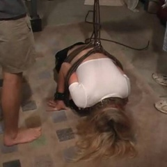 Cum whores in the home dungeon - Unique Bondage - Pic 2