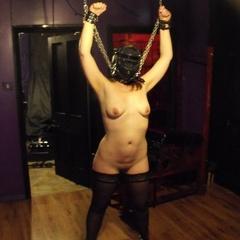 Amateur sluts taped shut and stringed up - Unique Bondage - Pic 2