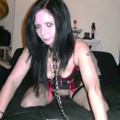 Wives in padlocked chains, leashed for him - Unique Bondage - Pic 3