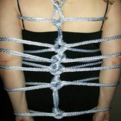 Submissive wives get all tied up - Unique Bondage - Pic 5