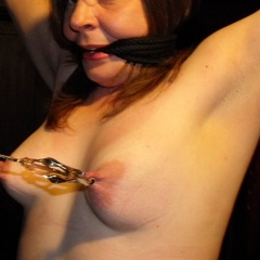 Sex slave submits to her masters will - Unique Bondage - Pic 1
