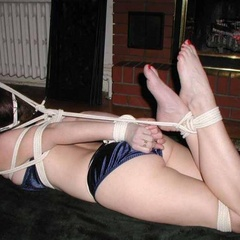 Leashed hogtied and willing - Unique Bondage - Pic 9
