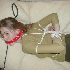 Restrained girls love their dildos - Unique Bondage - Pic 2