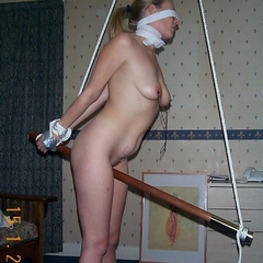 Hogtied bitches submit to their master - Unique Bondage - Pic 8