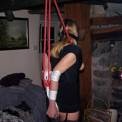 Hogtied bitches submit to their master - Unique Bondage - Pic 10