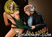 Bdsm comics. Blonde slve will be punished for her harsh words!