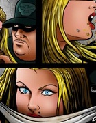 Slave girl comics. Blonde busty slave girl…