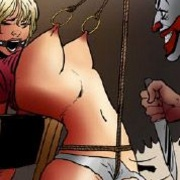 Slave comics. Good goo this other man's cock is huge, too I can almost feel it knocking against my bellt.