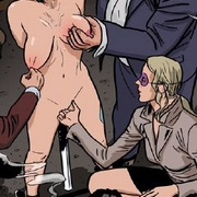 Bdsm art toons. Auction in which sex played a girl with big breasts.