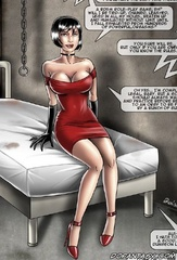Submission comics. A bdsm role-play game, eh?will I be tied-up, chained, leashed used in all my holes...