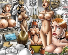 Bondage toons. All females in the hospital tied up so that they can not fuck their engines.