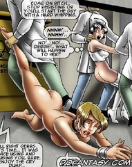 Sex slave comics. Come on bitch.. stop resissting or you'll start the day with a hard whipping.