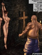 Bdsm cartoons. Your healthy breasts will not save you now I'll do it.