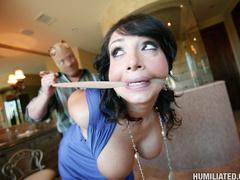 Hot MILF bound, humiliated and fucked! - Unique Bondage - Pic 4