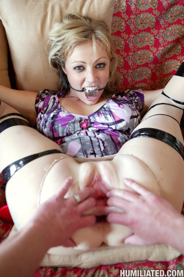 Hot bodied MILF is bound, disgraced and - Unique Bondage - Pic 14