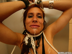 MILF hottied gets tied up and fucked in - Unique Bondage - Pic 16