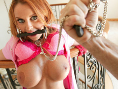 Sexy red head mother loves being made into - Unique Bondage - Pic 6