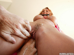 Sexy red head mother loves being made into - Unique Bondage - Pic 7
