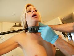 Hot photos of this blonde rich bitch doing - Unique Bondage - Pic 2