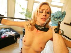 Hot photos of this blonde rich bitch doing - Unique Bondage - Pic 3