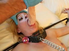 Hot photos of this blonde rich bitch doing - Unique Bondage - Pic 12