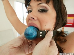 Big tit brunette takes big angry cock deep - Unique Bondage - Pic 3
