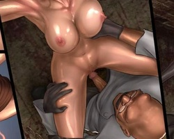 Two lovely agents captured by mad - BDSM Art Collection - Pic 6