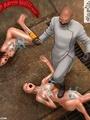 Cruel mad scientist forced his slave - Picture 5