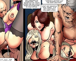 Poor enslaved blonde twins get fucked - BDSM Art Collection - Pic 4