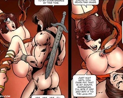 Cruel mistree makes her slave twins - BDSM Art Collection - Pic 4