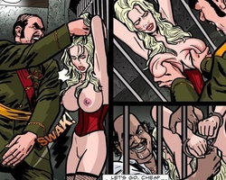 Poor captured slave cuties get - BDSM Art Collection - Pic 3